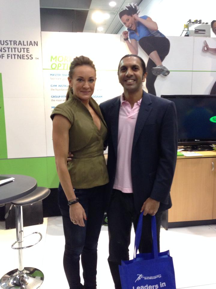 with Michelle Bridges